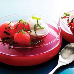 Watermelon Jello | MyRecipes.com