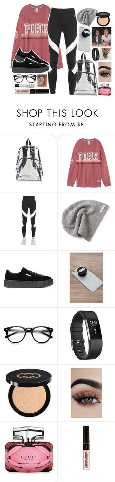 """With the Dolan twins ❤️"" by malrocks2003 ❤ liked on Polyvore featuring International, NIKE, Converse, Puma, Dolan, Fitbit, Gucci and NARS Cosmetics"