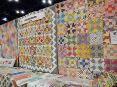 A Quilting Life - a quilt blog: Fall 2014 Quilt Market Part 3: Moda Booths