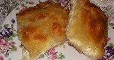 Τυρόπιτα γρήγορη με τον μαγικό χυλό... Το αποτέλεσμα υπέροχο, σαν να είναι το φύλλο χειροποίητο !!! Για τον χυλό : 2 ποτήρια αλεύρι,... Sorbet, Gelato, Cream And Sugar, Greek Recipes, Nutella, Bakery, Food And Drink, Bread, Cheese