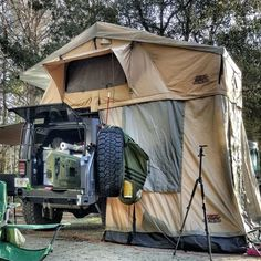 Jeep Camping, Off Road Camping, Best Tents For Camping, Camping Places, Outdoor Camping, Camping Ideas, Camping Style, Camping Guide, Tent Camping Beds