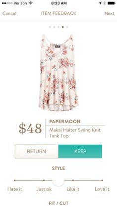 Another great summer top from Stitch Fix. Try it for yourself....stitchfix.com/referral/5198264.