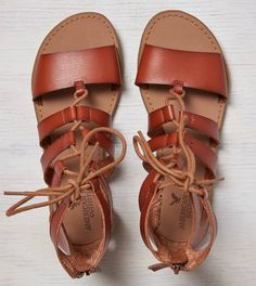 $35 AEO Lace-Up Gladiator Sandal