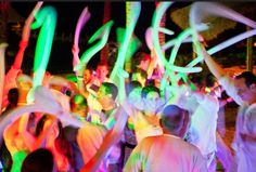 Oh yeah- awesome!!!!  We love this FUN idea!! Glowsticks for wedding send-off