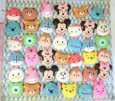 Macarons I made Macaroon Kawaii Disney Tsum tsum