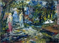 """""""High Spring Tide"""" by Jack Butler Yeats"""