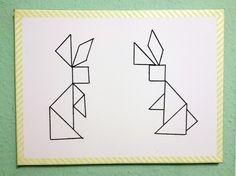 legepuzzle vorlagen tiere | tangram | pinterest