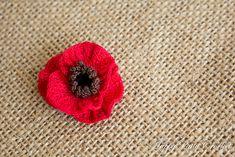 Ravelry: Mini Poppy Flower pattern by Happy Patty Crochet