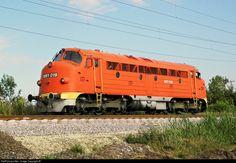 RailPictures.Net Photo: 019 Hungarian State Railways (MÁV) M61 / NOHAB at Békéscsaba, Hungary by Máté Szilveszter