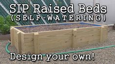 This tutorial explains how to build an S.I.P. (self watering, sub irrigated planter) raised garden bed. But going further, it also teaches the fundamental mechanics of a self-watering system. Although this focuses on a wicking bed, the same principles apply to sub-irrigated tote containers. You&#039