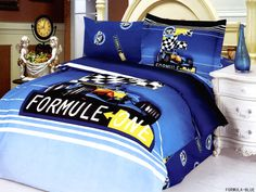 Toddler Room Bedding Modern Twin Duvet Covet Set, Le Vele - Gifts for You and Me Twin Size Duvet Covers, Bed Covers, Duvet Cover Sets, Boys Bedding Sets, Duvet Bedding Sets, Boy Bedding, Racing Bedroom, Race Car Bed, Race Cars