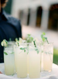 cucumber mojitos! // photo by ElisaBPhotography.com