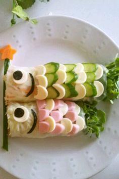 こどもの日★こいのぼりのサラダ