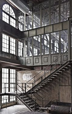 factory / glass windows