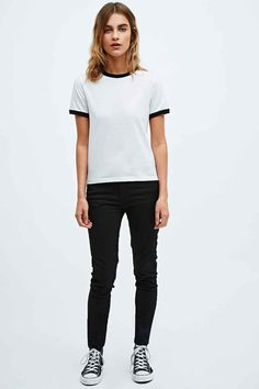 Cooperative Ringer Tee - Urban Outfitters 20% off any 2 or more tops..