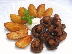 .. z lásky k vareniu ...: Marinované grilované šampiňóny