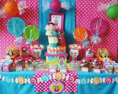 Southern Blue Celebrations: Candy / Sweet Shop Party Ideas