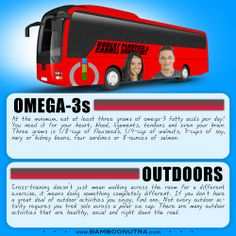 Nutrition & Fitness Tip - Omega-3s & Outdoors
