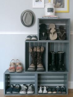 Upgrade Your Storage With These DIY Shoe Organizers   Domino