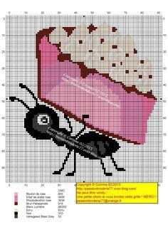 Gateau fourmis