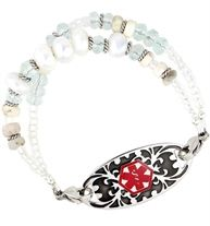Santa Monica Medical ID Bracelet | Lauren's Hope