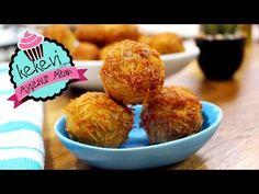 Tel Şehriyeli Patates Topları Tarifi - Nefis Yemek Tarifleri Appetizers, Eggs, Pasta, Chicken, Breakfast, Food, Hat Patterns, Kitchen, Youtube