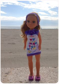 ¡De paseo por la playa! #Nancy #dolls #muñecas #poupées #juguetes #toys…