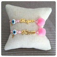 Diy And Crafts, Coin Purse, Bloom, Bracelets, Baby, Christening, Bangle Bracelets, Baby Humor, Bracelet