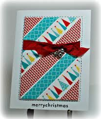 christmas cards with washi tape - Google Search