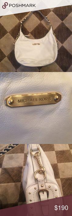 b7a82bd0048fa3 ⭐️Michael Kors ⭐️Vintage White leather bag - NWOT Beautiful Vintage MICHAEL  Michael Kors White