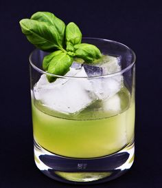 #Cocktail of the Month at #jazz_bar 'The Duke' (at Hotel Navarra Bruges)  The #Gin Basil Smash was created by Jörg Meyer from Hamburg. This cocktail with gin, sugar syrup, lemon juice and basil leaves, has fast become a phenomenon across the cocktail world.   http://www.hotelnavarra.com/barandterrace.html