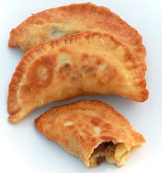 """A traditional treat back home in Puerto Rico is the """"pastelillo"""" which is similar to an empanada, except the dough is a little different. The dough for a pastelillo is very thin and fl…"""