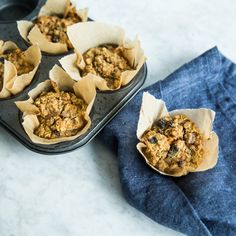 Breakfast Recipes: Carrot Cake Baked Oatmeal Muffins Recipe   CookingLight.com