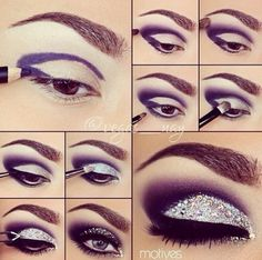 In order to enhance your eyes and also increase your attractiveness, finding the very best eye makeup tips will help. You need to make sure to put on make-up that makes you start looking even more beautiful than you are already. Glitter Makeup, Prom Makeup, Hair Makeup, Wedding Makeup, Silver Makeup, Glitter Lipstick, Homecoming Makeup, Glitter Eyeliner, Matte Lipsticks