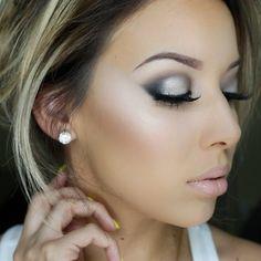 Макияж - bride with sass wedding day makeup Kiss Makeup, Cute Makeup, Gorgeous Makeup, Pretty Makeup, Hair Makeup, Prom Makeup, Wedding Day Makeup, Bridal Makeup, All Things Beauty