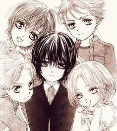 Vampire Knight- The Night Class Gang as Kids | LOOK AT LITTLE AIDO ISN'T HE SOOOO CUTE??????