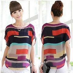 Super Cute Casual Loose Chiffon Top – ONLY $3.99 Shipped! See item ---> http://www.discountqueens.com/amazon-super-cute-casual-loose-chiffon-top-only-3-99-shipped/