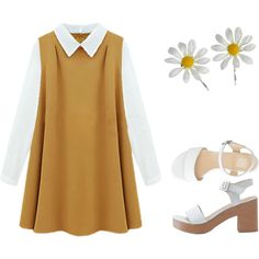 That 70's show by channabell on Polyvore featuring American Apparel and Miss Selfridge
