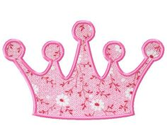 Free+Applique+Patterns | Free Applique and Fill Stitch Crown for a Princess or Prince
