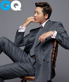 Korean Actor: Lee Jung Jin. I am typically not attracted to Asian men but this is a cool photo.