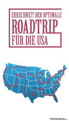 Vom Grand Canyon bis zur Freiheitsstatue: Mit einem Computer-Algorithmus errechnete der Amerikaner Randy Olson die effektivste Route, um 50 Highlights der USA zu sehen. TRAVELBOOK zeigt die interaktive Karte zum Nachfahren.