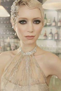 Peinados para novias 2016 con el pelo corto: Fotos  (6/56) | Ellahoy