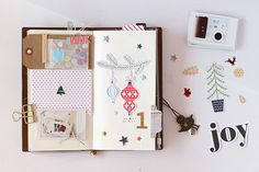 December Memories (Traveler's Note style) by EyoungLee at @studio_calico