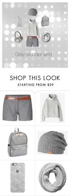 """""""Gray wonder land"""" by theghostgirl157 ❤ liked on Polyvore featuring Vero Moda, Raquel Allegra, M Z Wallace, Barts, Uncommon and Pieces"""