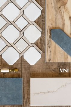 Quartzite Countertops, White Countertops, Tile Projects, Creature Comforts, Painted Floors, Cool Tones, Kitchen Colors, Tile Patterns, Outdoor Rooms