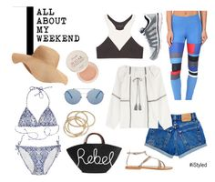 All About My Weekend by istyled on Polyvore featuring polyvore, fashion, style, Velvet, Calypso Private Label, Olympia, adidas, K. Jacques, Athletic Propulsion Labs, Eugenia Kim, ABS by Allen Schwartz, Old Navy, Fresh and clothing