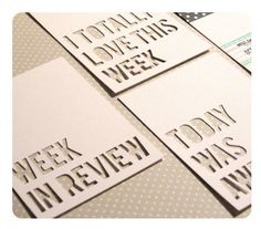 To buy to buy to buy - these lok fab!!! Design 1  Project Life 4x3 Insert Journaling Cards  by andiesink, $2.75