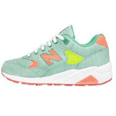 c30ced5bbcd7 New Balance WRT580SST B Sorbet Green Orange Womens Running Shoes Sneakers  http   www