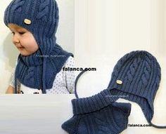 Erkek Bebek Bere Boyunluk Modeli