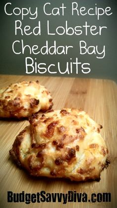Copy cat recipe for Cheddar Bay Bisquits...